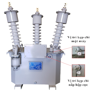 Combination of three-phase measuring transformer - 24kV (MOF 24)
