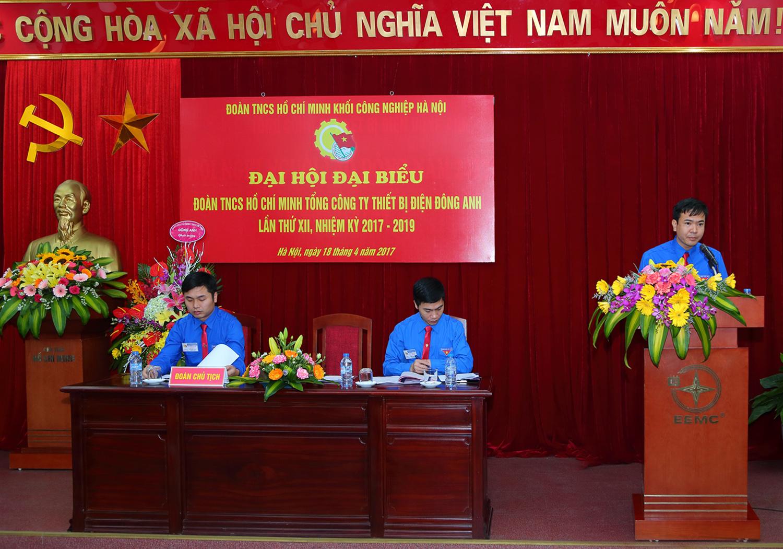 Đại hội Đại biểu Đoàn TNCS HCM Tổng công ty