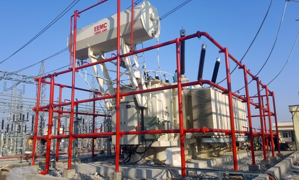 Máy biến áp 220kV do EEMC cung cấp đã đóng điện tại Trạm 220kV Bắc Ninh 2