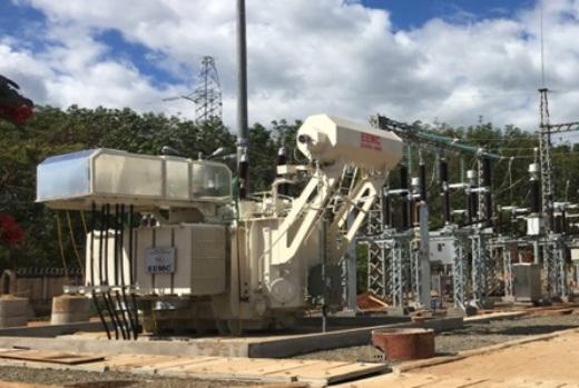 MBA 110kV do EEMC cung cấp được đóng điện tại TBA 110kV Chư Prông