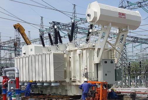 Đóng điện máy biến áp 220kV EEMC cung cấp tại trạm 500kV Quảng Ninh
