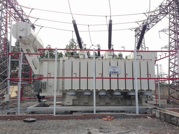 Đóng điện thành công máy biến áp 220kV trạm 500kV Đà Nẵng