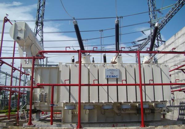 Máy biến áp của Tổng Công ty Thiết bị điện Đông Anh là sản phẩm chủ lực của Hà Nội