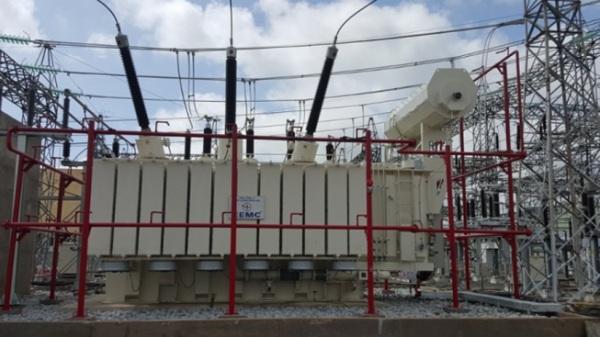 Máy biến áp 220kV của Tổng Công ty Thiết bị điện Đông Anh đã được đóng điện tại Trạm 220kV Trà Nóc