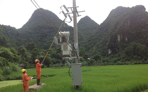 Máy biến áp phân phối EEMC lên vùng cao Sơn La