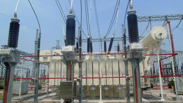 Máy biến áp 220kV của EEMC lắp tại trạm Vật Cách đã đóng điện