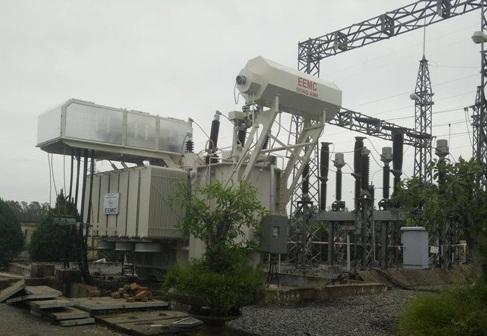 Máy biến áp 110kV do EEMC cung cấp cho Trạm biến áp quy mô không người trực