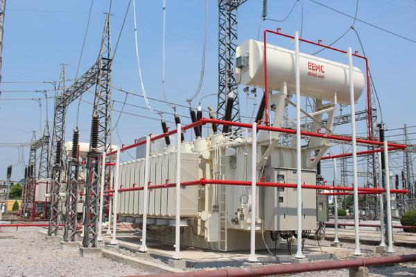 Đóng điện thành công MBA 220kV do EEMC cung cấp cho TBA Nam Định