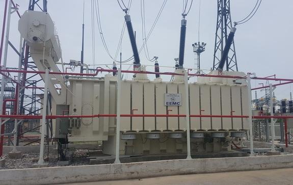 Đóng điện vận hành MBA 220kV - 250MVA do EEMC sản xuất tại TBA 220kV Thanh Hóa
