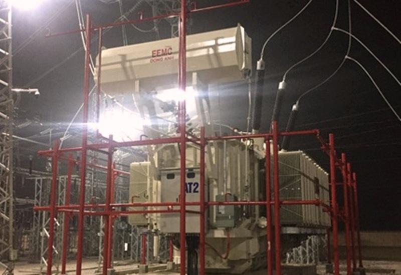 Đóng điện máy biến áp Thiết bị điện Đông Anh tại trạm 220kV Nông Cống