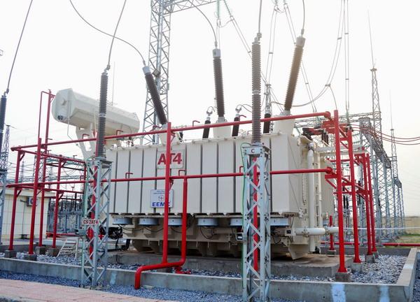 Máy biến áp 220kV do EEMC cung cấp đóng điện thành công tại Trạm biến áp 500kV Đông Anh