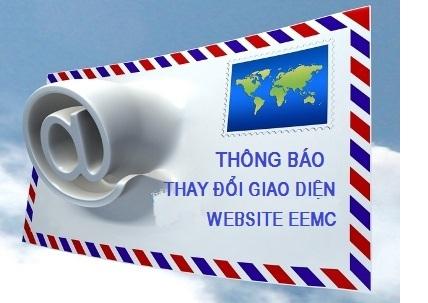 Thông báo thay đổi giao diện Website Tổng Công ty Thiết bị điện Đông Anh