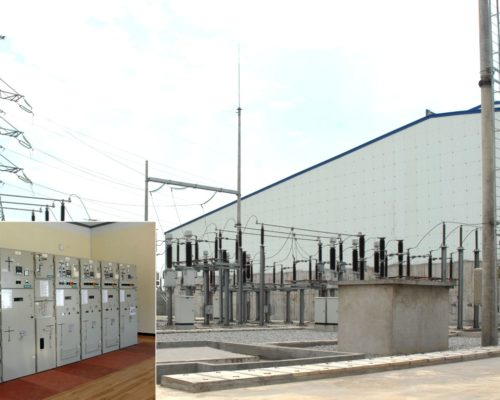 Complete substation equipment