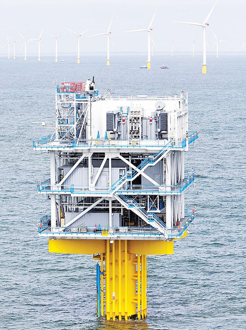 Trạm biến áp 110kV ngoài biển khơi