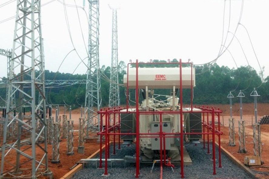 Máy biến áp 220kV EEMC cung cấp được đóng điện vận hành tại Trạm biến áp 220kV Phú Thọ