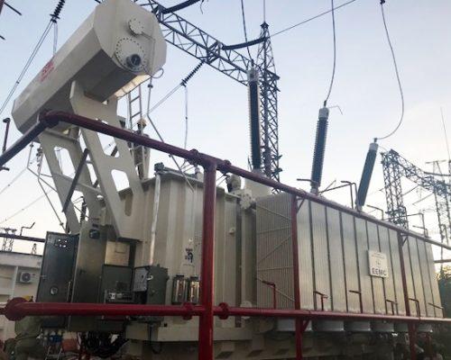 EEMC: Xuất xưởng và đóng điện 5 máy biến áp 220kV