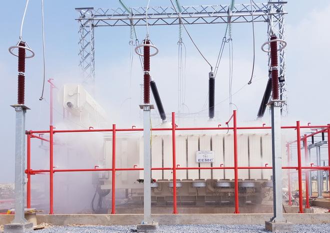 EEMC: Đóng điện đưa vào vận hành MBA 220kV-250MVA thứ 2 tại TBA 220 kV Tây Hà Nội