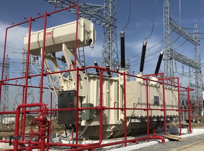 EEMC: Đóng điện MBA 220 kV-250MVA tại TBA 220 kV Tân Thành