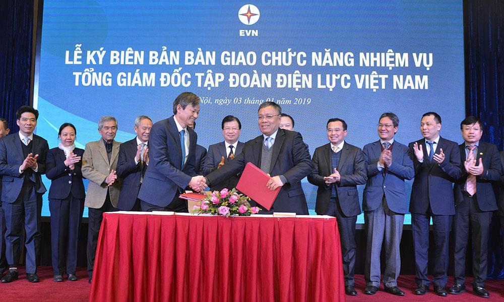 Công bố Quyết định bổ nhiệm Tổng giám đốc Tập đoàn Điện lực Việt Nam